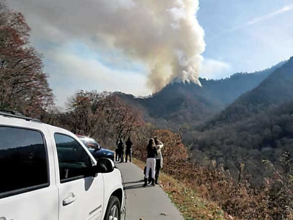 Review released of Smokies' wildfire response