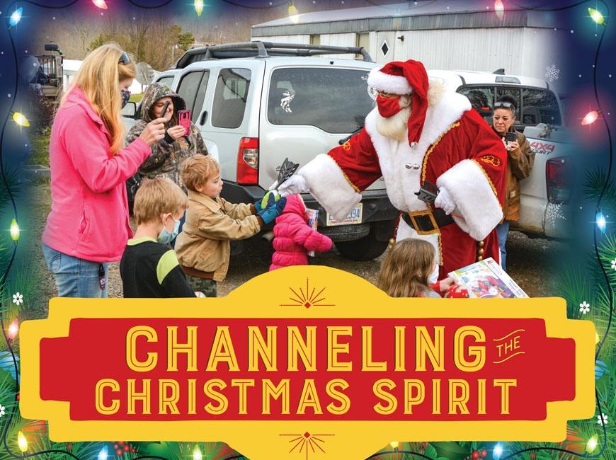 The day Santa came to Red Fox Loop: In search of the Christmas spirit in Appalachia