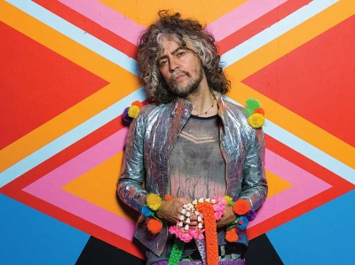 Wayne Coyne, lead singer of Flaming Lips. George Salisbury photo