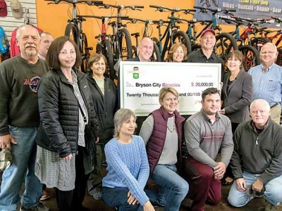Bryson City Bicycles receives small business grant