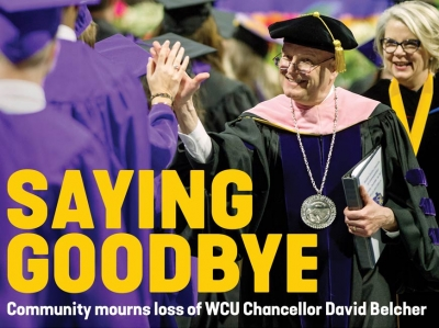 A life that changed lives: WNC mourns death of WCU Chancellor David Belcher