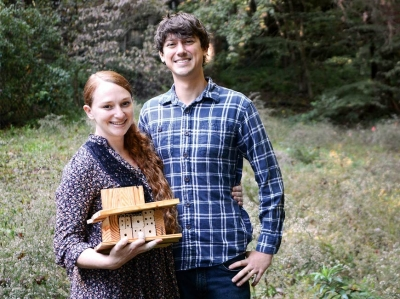 Planting for pollinators: Waynesville couple seeks to educate on the benefits of native bees