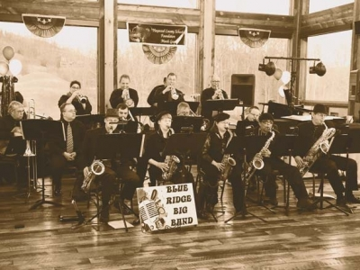 Blue Ridge Big Band to play Folkmoot Friendship Center