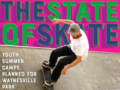 Growing up grinding: Waynesville skate park takes on new importance