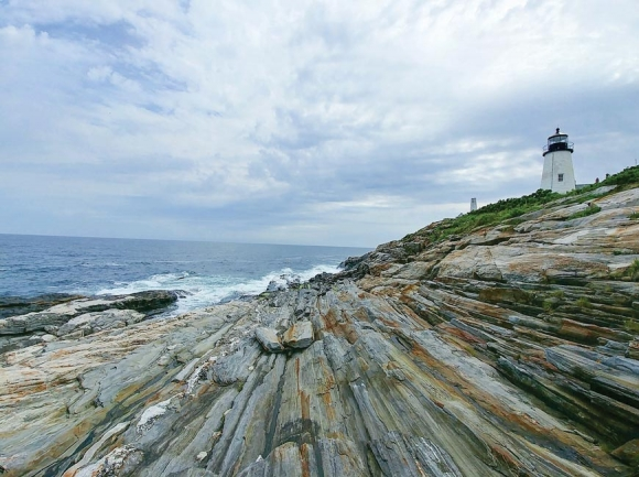 The Pemaquid Point Lighthouse in Maine. (photo: Garret K. Woodward)