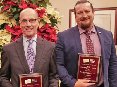 Vaya Health honored for efforts to reduce overdoses