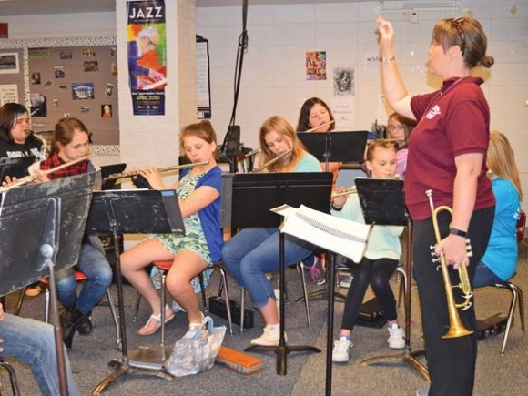 Swain's band blossoms despite budget constraints