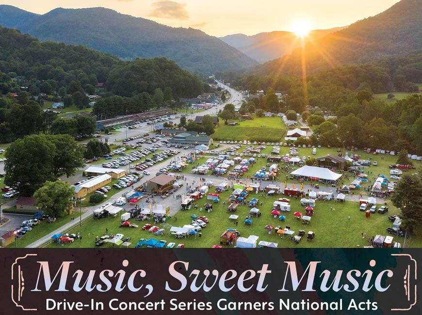 Drive-in music series rolls into Maggie Valley