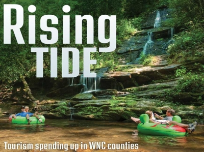Tourism spending up in WNC counties