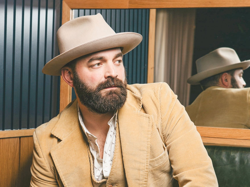 Rowdy heart, broken wing: A conversation with Drew Holcomb