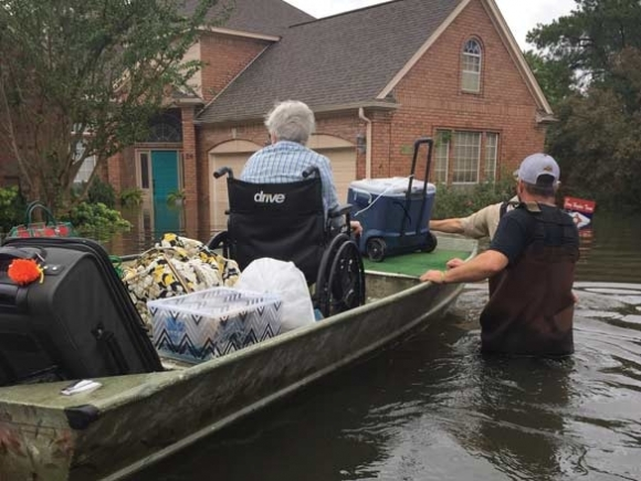 WCU fishing club rescuing Harvey victims