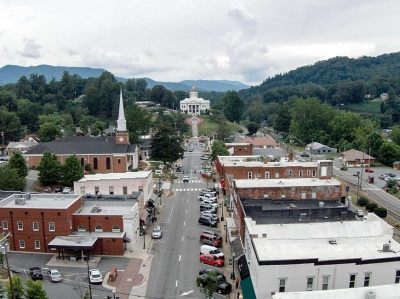 Downtown Sylva. Margaret Hester photo