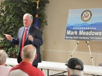 Fierce campaign divides Mark Meadows' old district