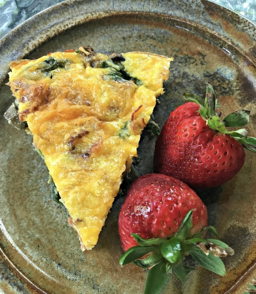 The Table — Iron Skillet Frittata