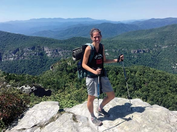 Embracing the season: Cross-state trek presents challenge and reward for Asheville hiking legend