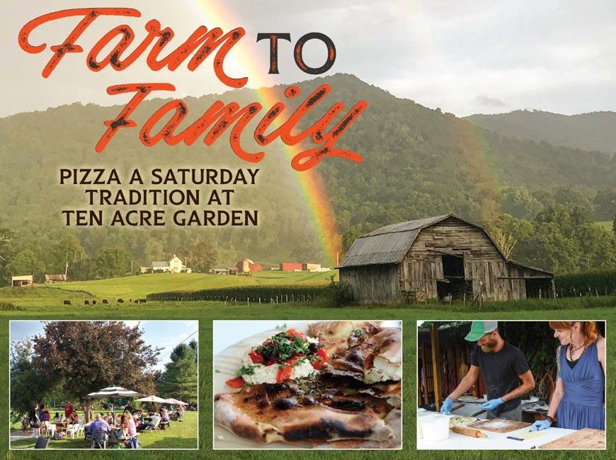 Haywood's biggest pizza party: Pizza nights at Ten Acre Garden grow community