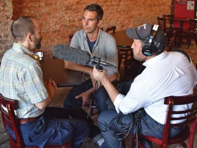 This must be the place: NPR's Ari Shapiro visits WNC