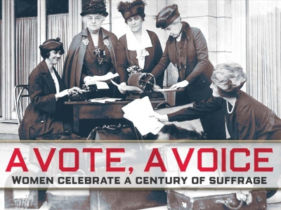 Women celebrate a century of suffrage