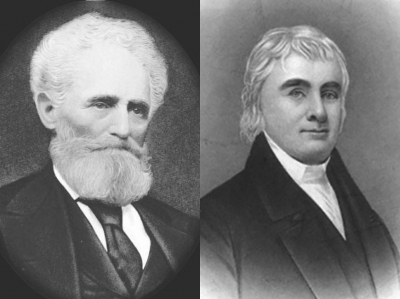 Nicholas W. Woodfin (left) and John Haywood.