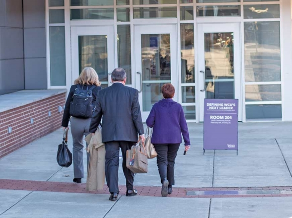 WCU community voices priorities for chancellor search