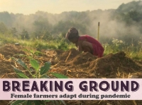 Female farmers survive a challenging year