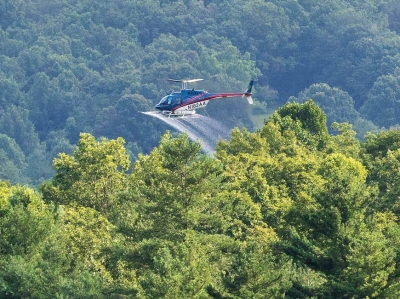 Duke pauses aerial spray program following complaints