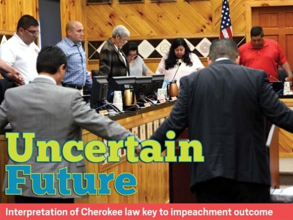Unstable ground: Complex questions surround upcoming Cherokee impeachment process
