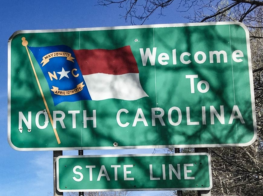 I like calling North Carolina home