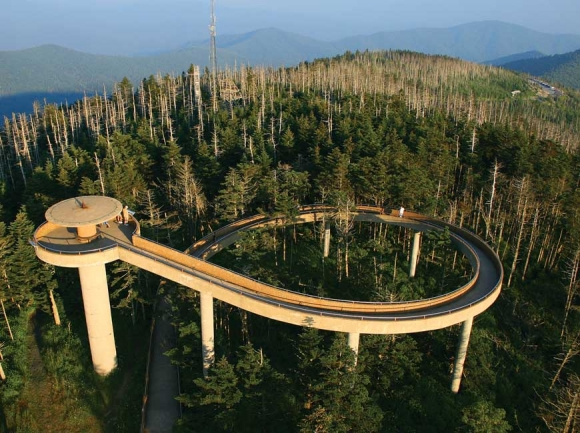 The road leading to Clingmans Dome in the Great Smoky Mountains National Park has deferred maintenance needs of $3.4 million.