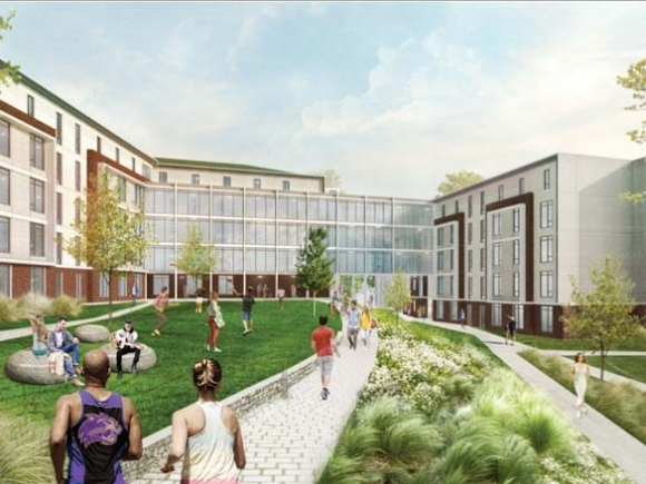 Residence hall, parking deck projects move forward at WCU
