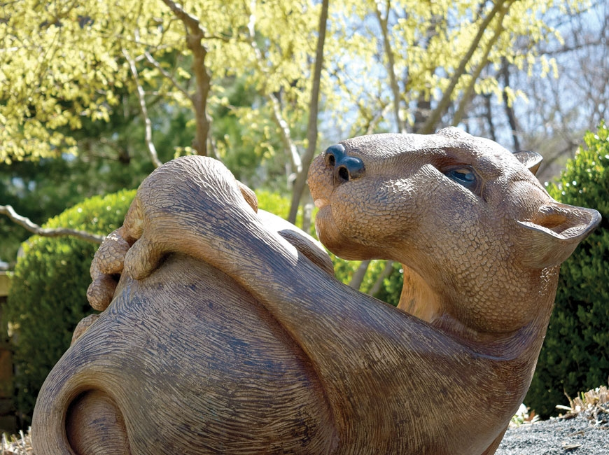 Sculpture showcase comes to arboretum gardens