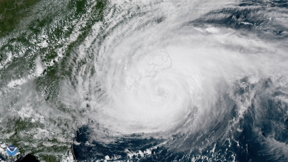 Hurricane Florence made landfall earlier today.