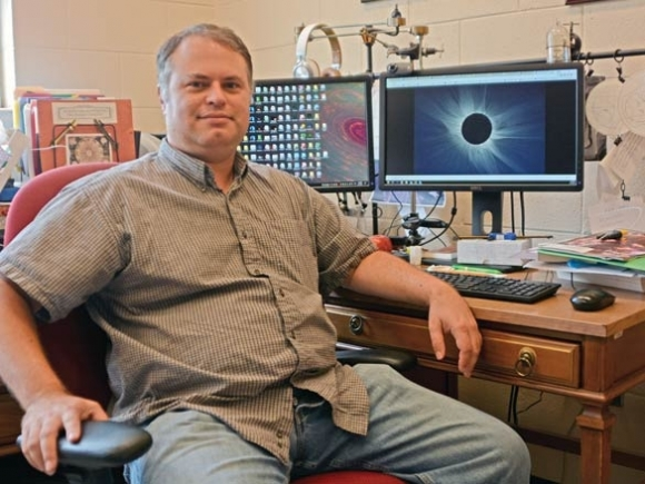 Roller coaster in the sky: Solar eclipses inspire awe and enchantment for WCU professor