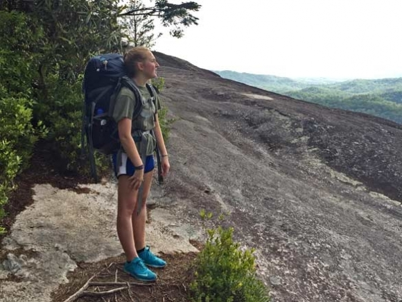 Team Ruebel hits the trail: Hiking is a bonding force for father-daughter duo