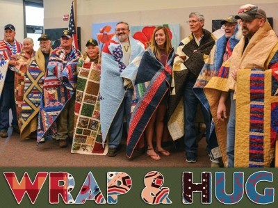 Quilters celebrate 10 years of honoring veterans
