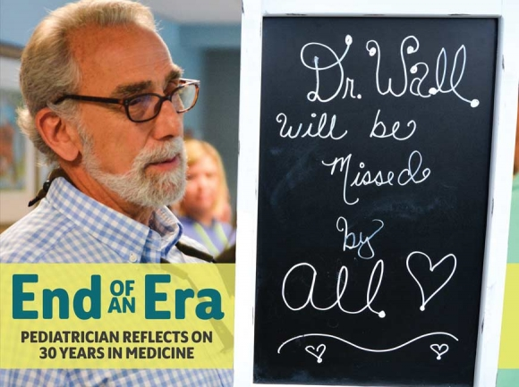The pulse of the community: Local pediatrician retires