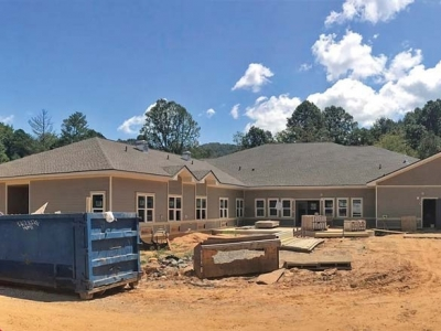 Bryson Senior Living close to completion
