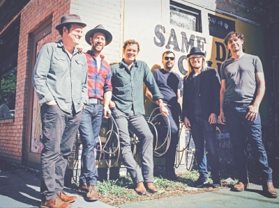 Between midnight and the dawn: Graham Sharp of Steep Canyon Rangers