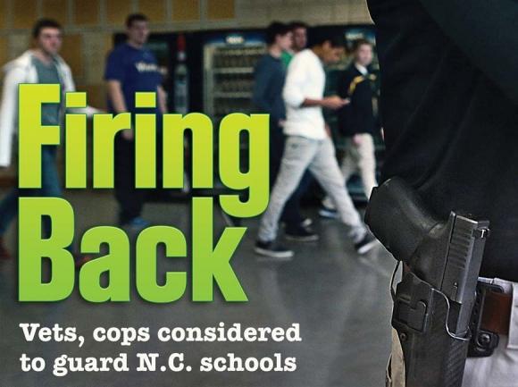 Officials considering armed volunteers for schools