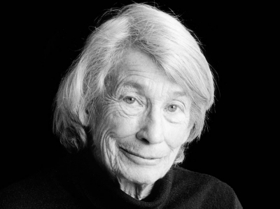 Mary Oliver. Donated photo