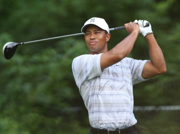 Tiger Woods in 2007. Keith Allison / Creative Commons