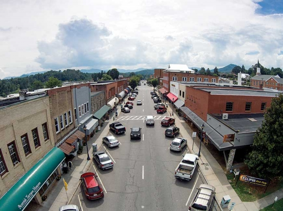 Downtown Franklin.
