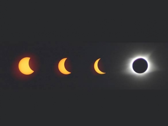 Solar eclipse: A day with two sunrises