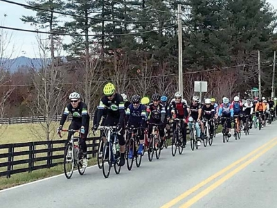 Winter bike league launches in Asheville