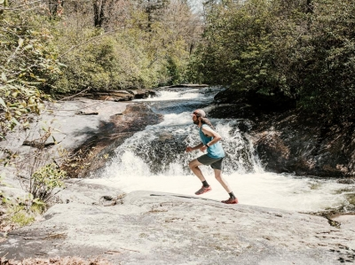 Freedom on foot: Cashiers man shares trail running passion through guide company