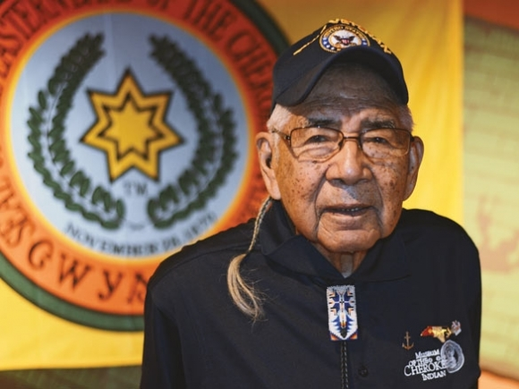 Formed by the mountains: Cherokee elder reflects on 93 years of service to tribe and country