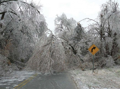 The Great Ice Storm of 1998.
