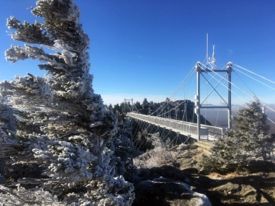 Grandfather Mountain sets new wind speed record