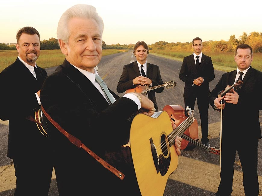 The Del McCoury Band.